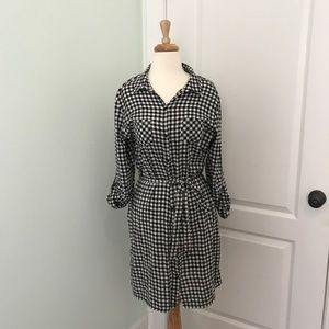 Old Navy Flannel Dress Size Large